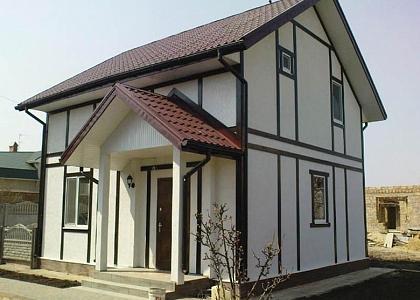 фасад из цсп для дома