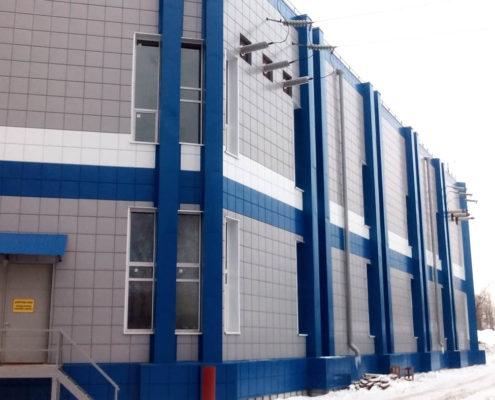 вентфасад для промышленных зданий