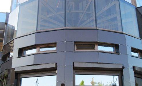 Монтаж светопрозрачных фасадов под ключ