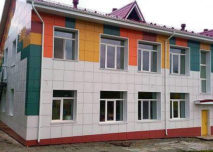 готовый вентилируемый фасад