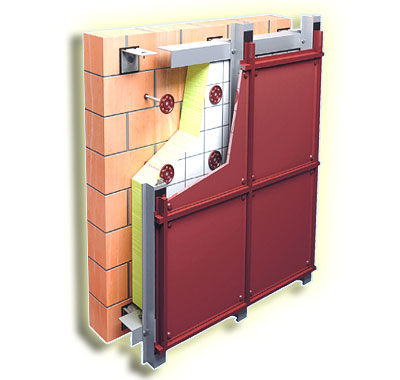 фиброцементная панель вентфасад